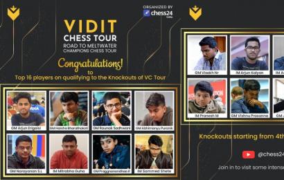 Praggnanandhaa, Gukesh & co. in Vidit Chess Tour Finals