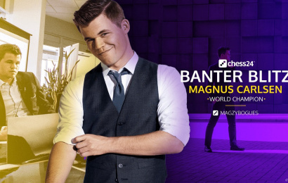 Carlsen shines in first Banter Blitz