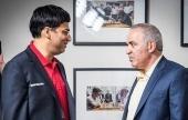 STL Rapid & Blitz, 2: Nepo claims Kasparov scalp