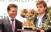 Carlsen to defend his title in November 2014