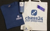 Recruit new members and win a chess24 fan pack