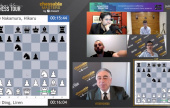 Chessable Masters 6: Ding derrota Naka, Giri vence match de 7 empates