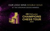 冠军巡回赛徽标获得两项欧洲设计金奖