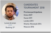 The Candidates: Levon Aronian