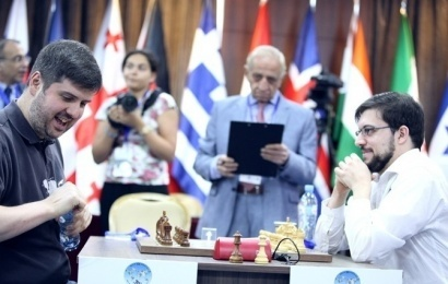 Tbilisi World Cup QF Tiebreaks: MVL ousts Svidler