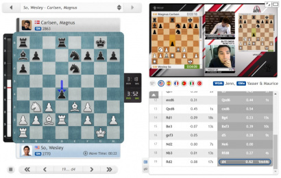 """STL Rapid & Blitz 4: Carlsen regains lead with """"somewhat chesslike fun and nonsense"""""""