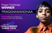 Praggnanandhaa powers into Champions Chess Tour