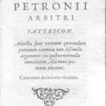 profile image of Satyrica