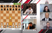 Carlsen y So comparten el 1º puesto del St. Louis Rapid & Blitz