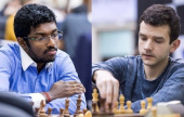 Sharjah Masters 3-6: Adhiban and Kravtsiv lead