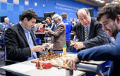 Tata Steel 2019, 3: Nepo beats Kramnik to lead
