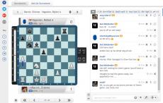 Detachable video in live tournament broadcast