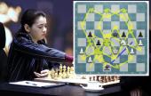 Partie 1: Goryachkina knetet, Ju Wenjun überlebt