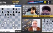 Chessable大师赛四分之一决赛首日:卡尔森和涅波先声夺人
