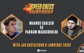 Carlsen demolishes Maghsoodloo 24:5