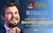 "Magnus Carlsen wins ""smooth"" Aimchess US Rapid"