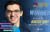 Anish Giri wins the 2nd Magnus Carlsen Invitational