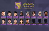 Chessable Masters features Ju Wenjun and Abhimanyu Mishra