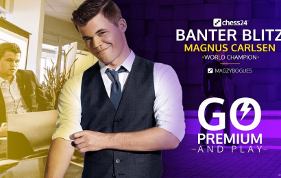 Magnus Carlsen back for more Banter Blitz