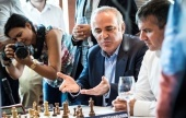 "Kasparov ""officially"" back as St. Louis wildcard"