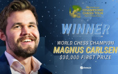 Magnus Carlsen wins New in Chess Classic for 1st Tour title
