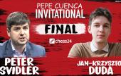 It's a Svidler-Duda final!