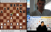 Magnus Carlsen commentates on the Olympiad