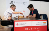 Harikrishna wins Chess960 as over-the-board chess is back in Biel