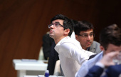 Shamkir Chess 5: Anand beats Giri to go 2nd