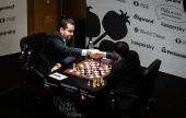 Jerusalem Grand Prix SF 1: Nepo strikes first blow