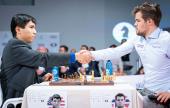 So stuns Carlsen to lead Fischer Random final