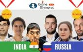 Doppeltes Gold bei der FIDE-Online-Olympiade