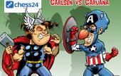 Un mes para el Carlsen - Caruana