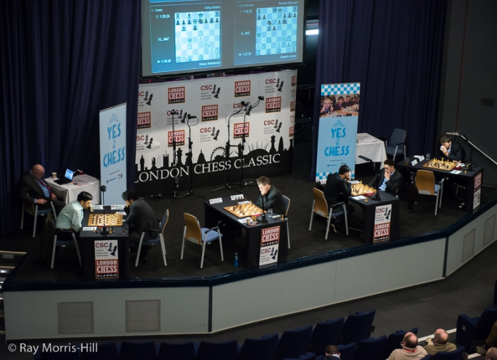Berlin Wall Chess : London classic an evans and a shaky berlin wall