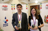Andreikin and Pogonina win Russian Superfinals