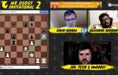 MDI 2, Day 1: Adhiban wins in 9 moves, but Navara, Giri, Dubov & Vidit advance