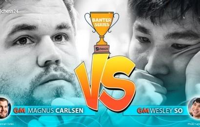 Carlsen vs. So im Finale der Banterserie!