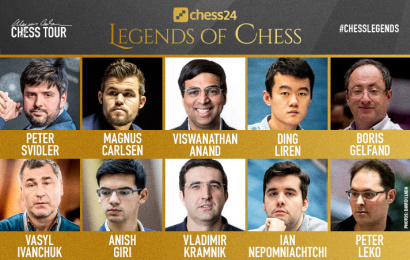 chess24 Legends of Chess line-up revealed