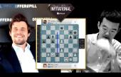 MCI (Semifinal 2): Carlsen gana y se enfrentará a Nakamura en la final