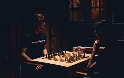 Carlsen & Giri's #MoveForEquality