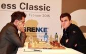 GRENKE Classic Round 1: Fighting draws