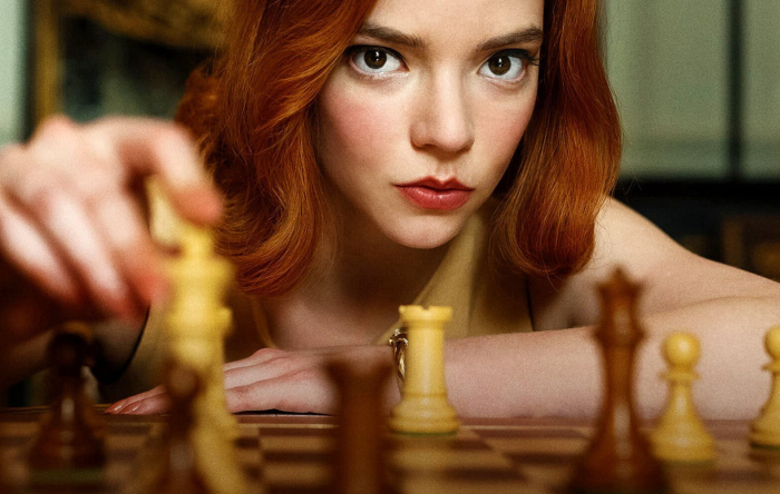 'The Queen's Gambit' and the history of chess in entertainment
