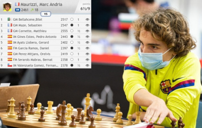 13-year-old Marc Maurizzi scores 2nd GM norm