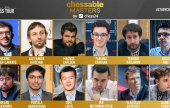World's Top 6 play the Chessable Masters
