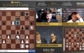 chess24 Legends (7): Vishy consigue su primera victoria y Magnus continua imparable