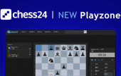 ¡Prueba la nueva zona de juego de chess24!