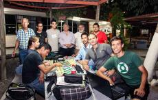 """Club de ajedrez """"Las jacarandas"""" Universidad de Sonora (México)"""