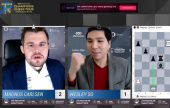 Opera Euro Rapid Final 1: So hits back against Carlsen