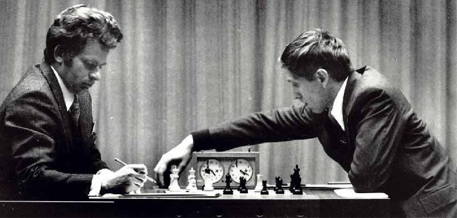 Image result for bobby fischer championship win 1972