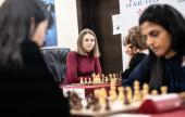 Lausanne Grand Prix 1-3: Harika beats Ju Wenjun